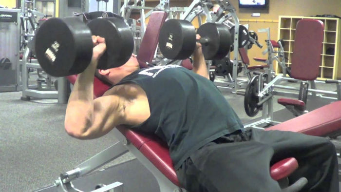 Incline Dumbbell Press - Guide