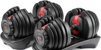 bowflex adjustable dumbbells
