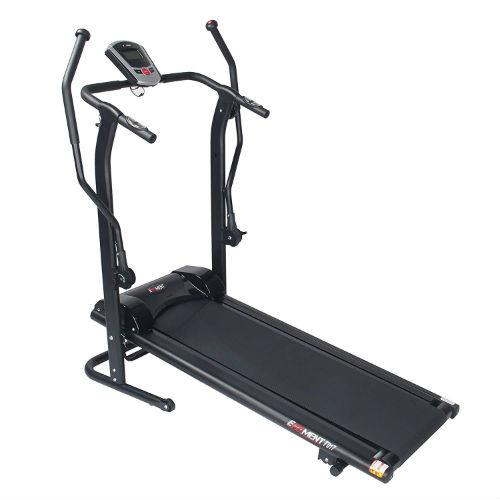 EFITMENT Adjustable Incline Magnetic Manual Treadmill