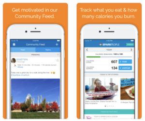SparkPeople Calorie Tracker App