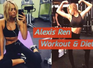 ALEXIS REN WORKOUT AND DIET PLAN