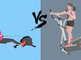 Rowing Machine vs. Elliptical
