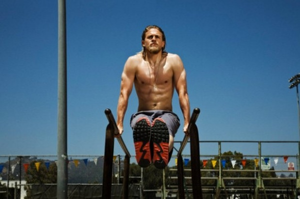 charlie hunnam exercise routine