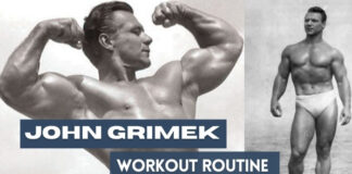 John Grimek Workout and Diet