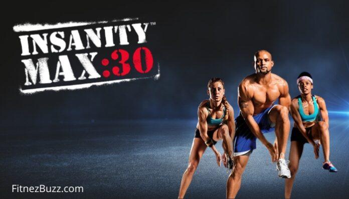 INSANITY Max 30 Workout Calendar