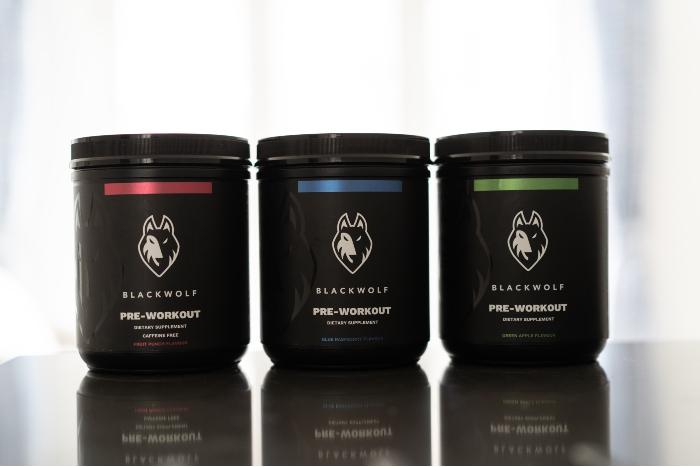 Blackwolf Pre-Workout Supplement