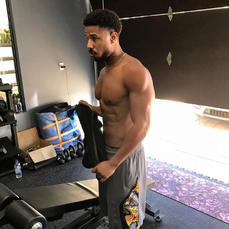 Michael B. Jordan Workout